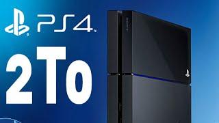 TUTO changer votre disque DUR PS4 pour 2000Go