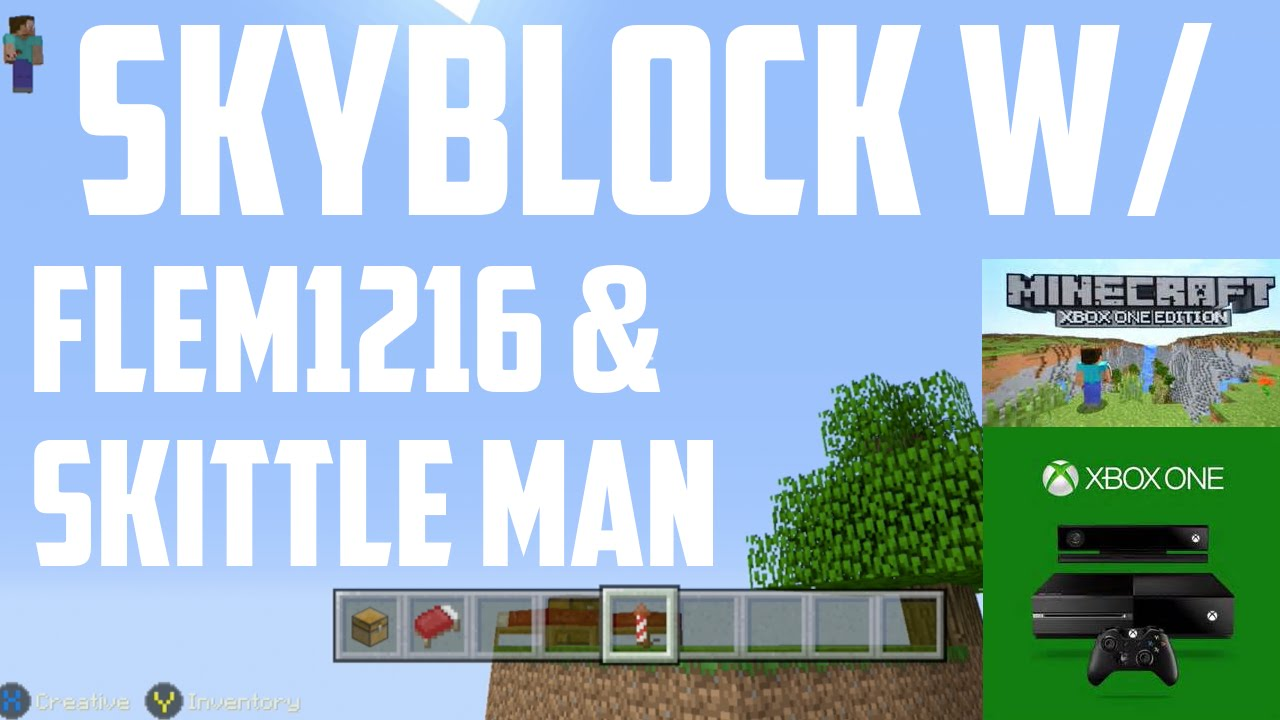 how to make skyblock on xbox one