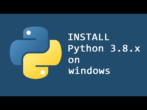 How To Install Python 3.8.1 On Windows 10 & 8