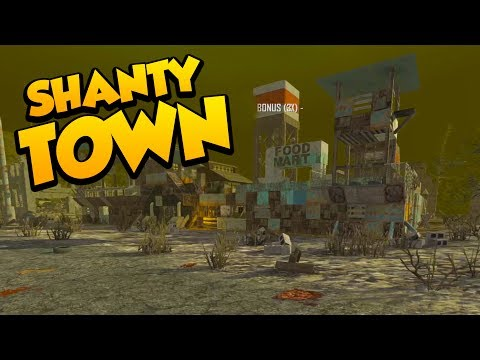 SHANTY TOWN is BUGGED! - 7 Days to Die Alpha 16 Multiplayer Gameplay #20