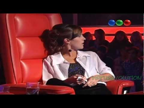 "La voz Argentina / La Sole canta ""Me canse de rogarle"""