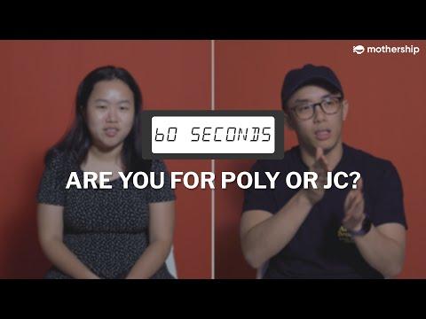 60 Seconds To Discuss... Polytechnics Or Junior Colleges In Singapore?