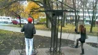 ДАРЫ КУЗНЕЦОВ - ДОНЕЦК Парк Кованых фигур - Forged Figures Park(наш видео архив за ноябрь 2012 г., 2012-11-13T09:51:35.000Z)