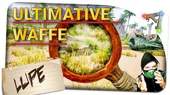 Ark Survival Evovled ✪ Ultimative Waffe ✪  DIE LUPE ✪ Ark: Survival Evolved German Deutsch
