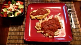 Jen's Easy Chicken Parmesan
