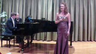 Britten: The Trees They Grow So High.  Jaely Chamberlain, Soprano/Andrew Welch, Piano
