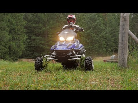 We Put Wheels On A Supercharged Snowmobile. She Rips! 200+ HP