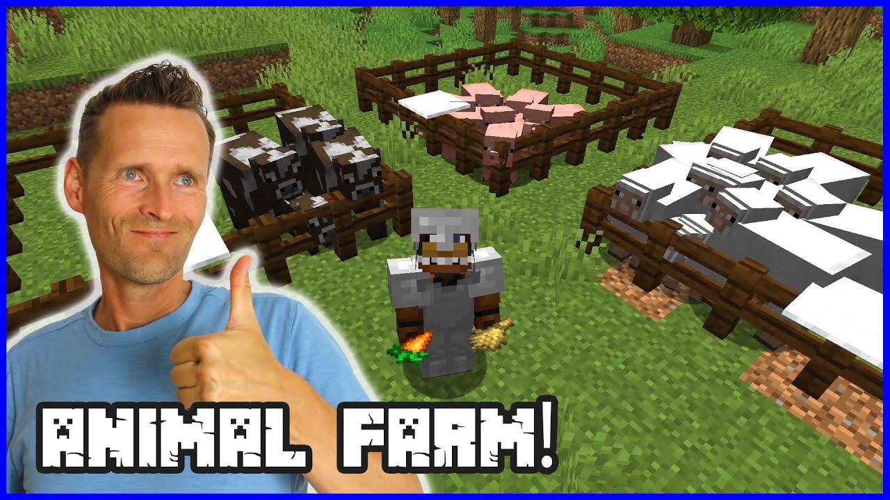 I Made an Animal Farm!