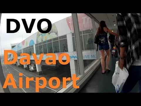 Arriving at DVO (Fancisco Bangoy International Airport), Davao