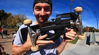 SKATING A GUN! | SKATE EVERYTHING EP 46