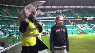 Celtic v St Mirren Mascot Video