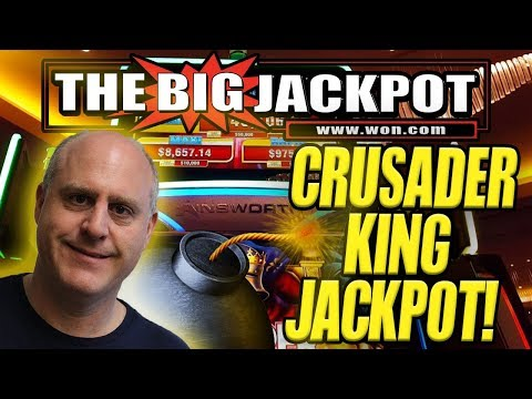💰JACKPOT ON NEWLY PLAYED GAME 💣CRUSADER KING! FREE GAMES!