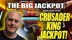 💰JACKPOT ON NEWLY PLAYED GAME 💣CRUSADER KING! FREE GAMES! | The Big Jackpot