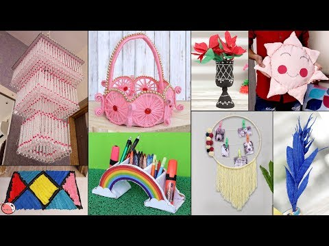 9 Latest Home Decor Ideas !!! Useful Craft