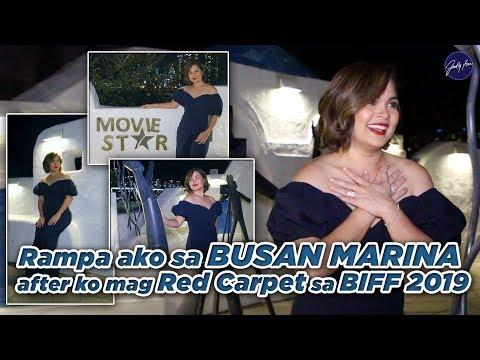 Rampa ako sa BUSAN MARINA after ko mag Red Carpet sa BIFF 2019 | Judy Ann Santos