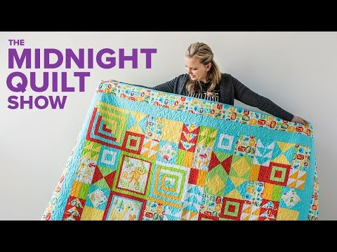 Baby Animal Quilt for a Special Nephew | Midnight Quilt Show with Angela Walters