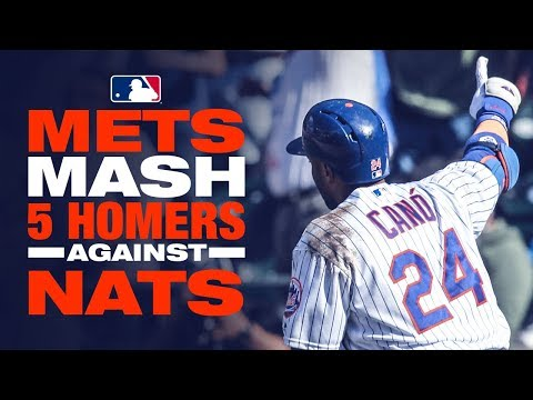 Mets mash their way past Nationals