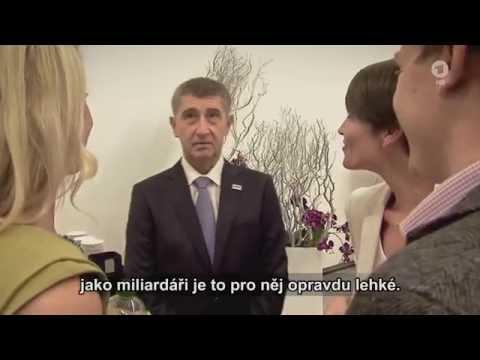 Německá televize ARD o Andreji Babišovi - české titulky