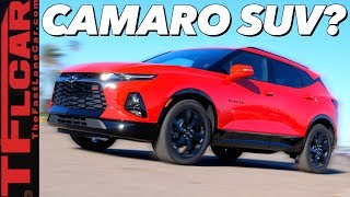 The 2019 Chevy Blazer Is No Longer Your Father'S Truck- First Drive Review