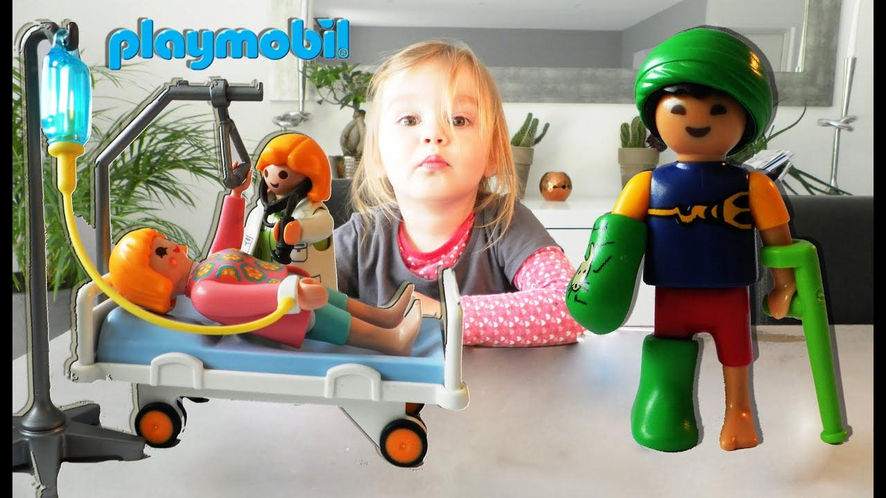Playmobil City Life Küche 9269 Playmobil City Life L 39hopital Et La Maternité Unboxing