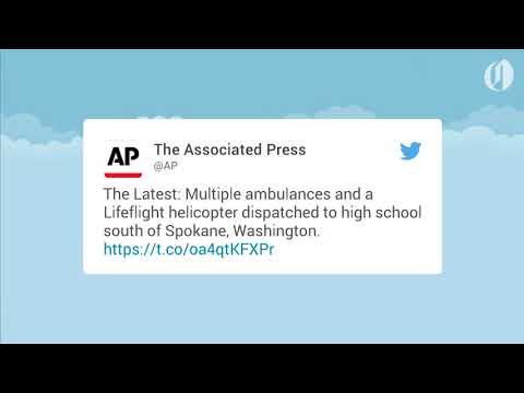 News reports from a shooting at high school in Spokane, Washington