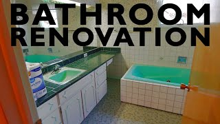 Lake House Renovation Part 5|1960's Bathroom Makeover