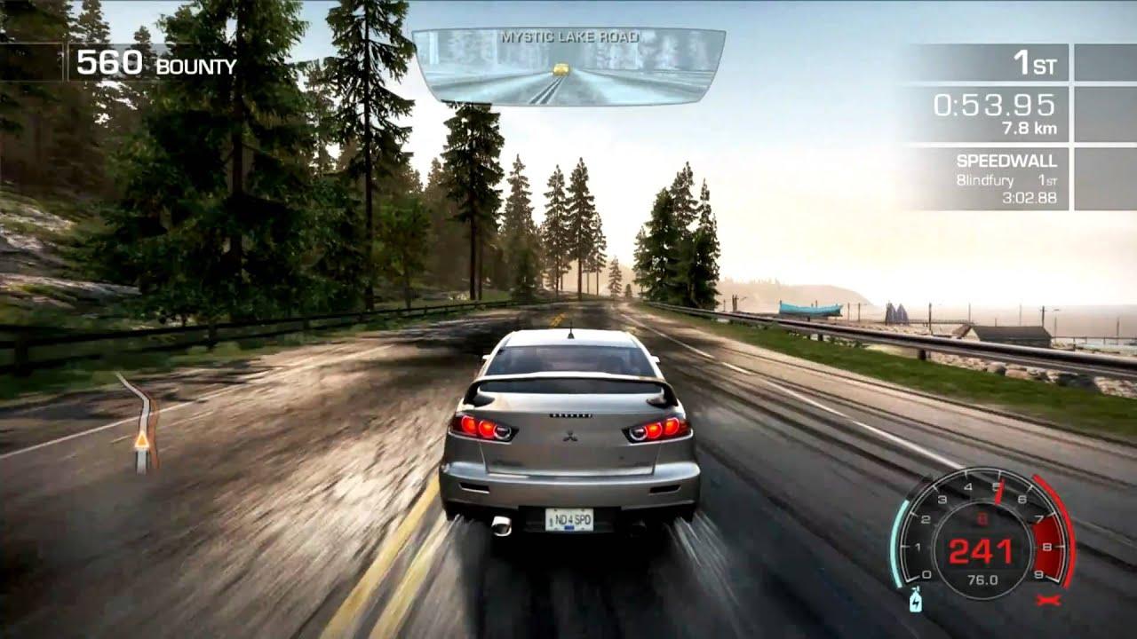 nfs hot pursuit hd 1080p gameplay gtx 580 max settings