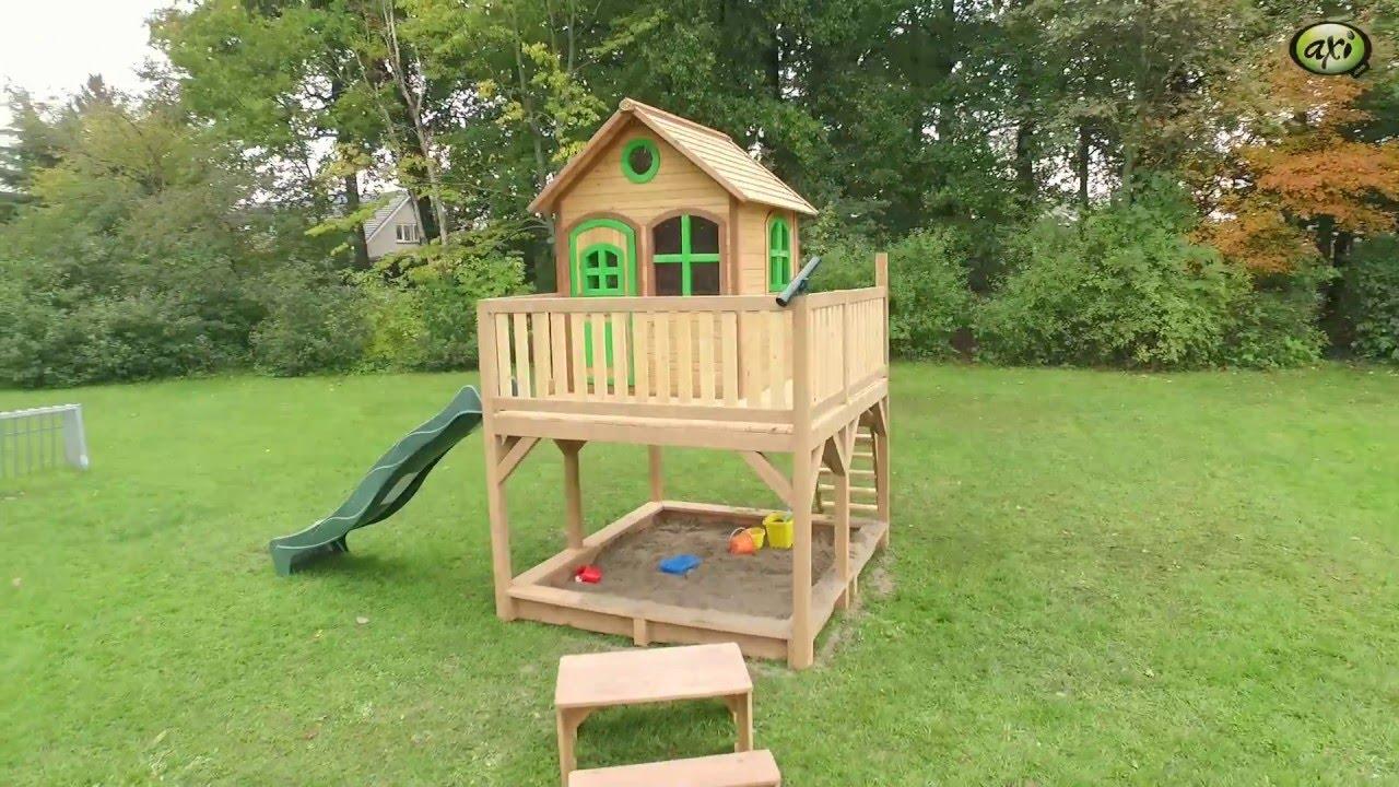 BLOXXIS Kinderspielhäuser Stelzenhäuser für Garten
