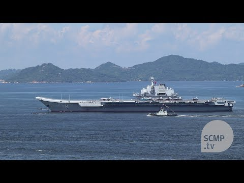 China's Liaoning aircraft carrier leaves Hong Kong