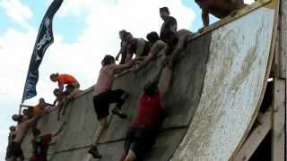 Tough Mudder Quarter Pipe Fail then WIN!