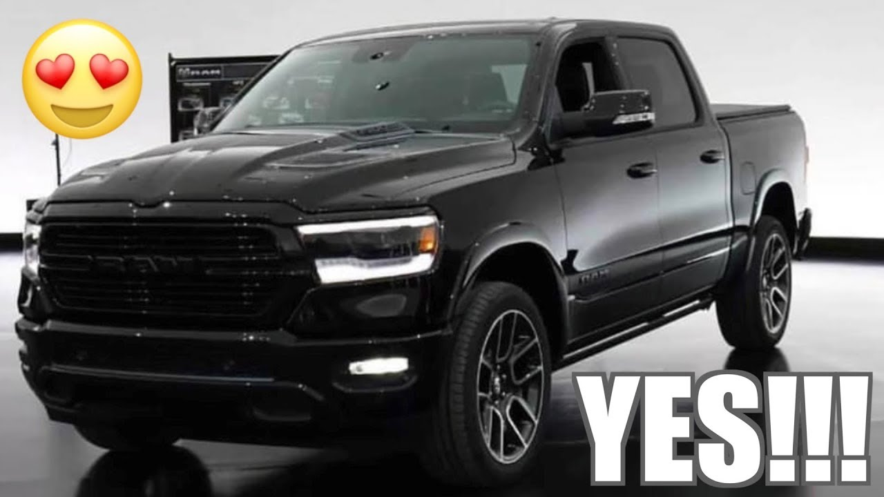 2019 Blacked Out Ram 1500 Time To Order Youtube