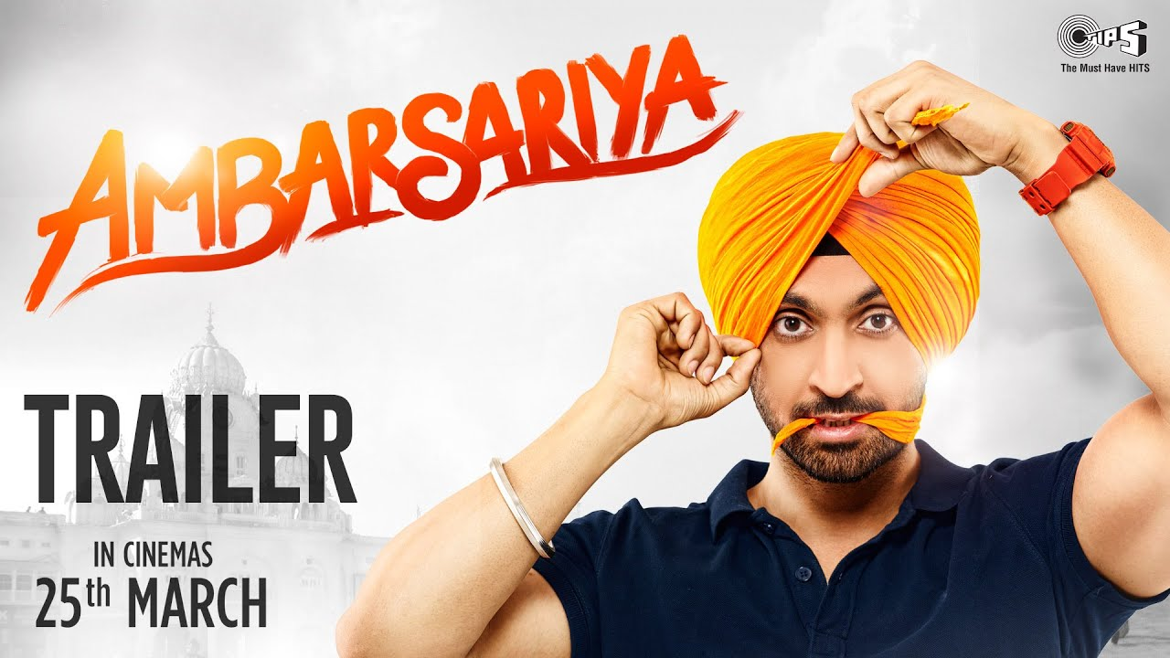 Ambarsariya Trailer - Diljit Dosanjh, Navneet, Monica, Lauren, Gul Panag | Latest Punjabi Movie 2016
