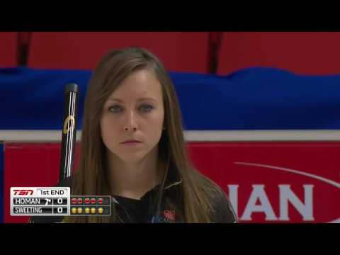 Rachel Homan vs. Val Sweeting - 2016 Home Hardware Canada Cup of Curling (Draw 7)