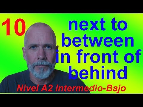 Next to, Between, In Front Of, Behind etc (A10)