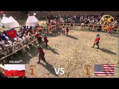 IMCF 2015 16 VS 16 POLAND VS USA FINAL GOLD & SILVER