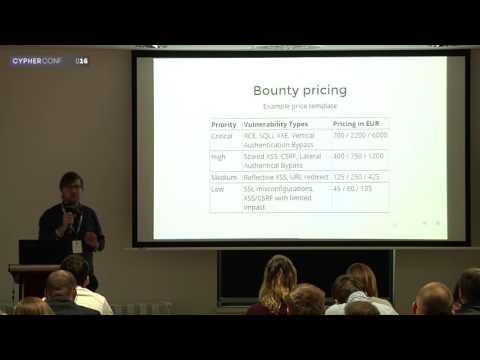 CypherConf 2016 (Bratislava): Vzostup crowdsourcovanej IT bezpečnosti