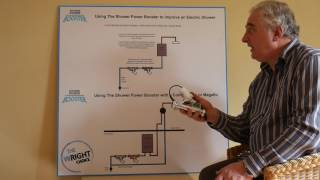 How to improve the pressure to an electric shower