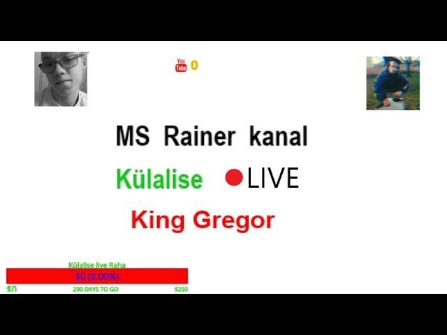Külalise Live  -King Gregor
