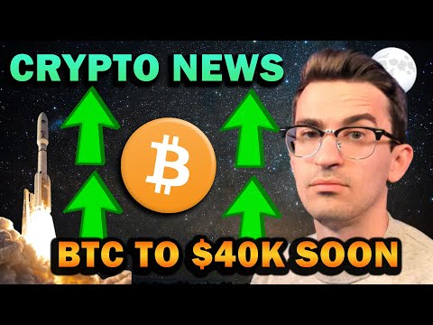 CRYPTO BREAKOUT COMING!! Bitcoin to $40k Soon?