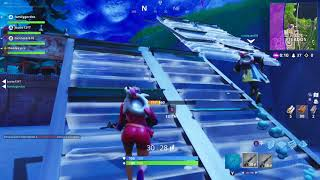 I discover a secret place to camp in fortnite (CASI WIN)