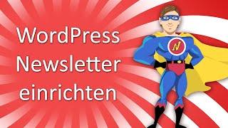 WordPress Newsletter einrichten