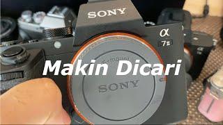 Sony A7 mark II di Tahun 2021