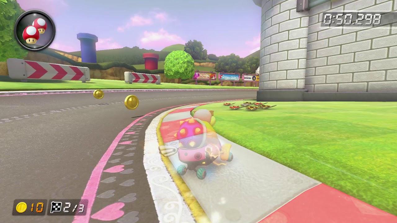 N64 Royal Raceway [150cc] - 1:55.959 - Eline (Mario Kart 8 Deluxe World Record)