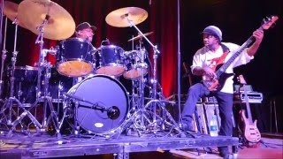 Victor Wooten w Dennis Chambers - Zenergy [edit] @ Variety Playhouse, Atlanta - Thu May / 12 / 2016