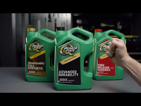 Hands On with Quaker State: Green Bottle
