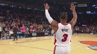 Dwyane Wade Gets Standing Ovation and Tribute From Fizdale