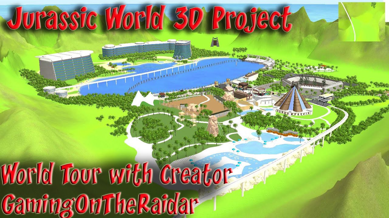 Jurassic world 3d project world tour with its maker jurassic world 3d project world tour with its maker gamingontheraidar gumiabroncs Image collections