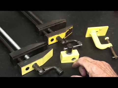 MAKE A FLOAT LOCK Drill Press Vise TIPS 589 pt 10 tubalcain