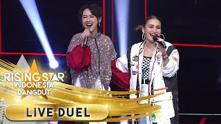 Ayu Ting Ting Feat Happy Asmara [BUKAN CINTA BIASA] | Live Duel | Rising Star Indonesia