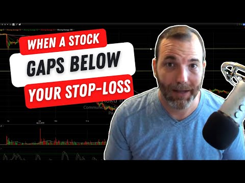 What to Do When a Stock Gaps Below Your Stop Loss